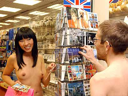 and-nude-in-shoppingmall-indian