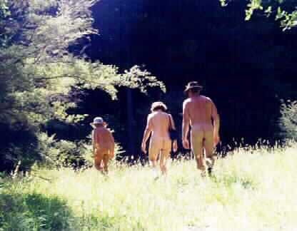Nude Bush Walking