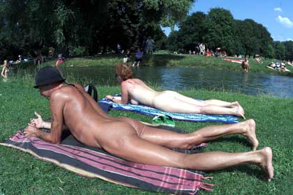 English garden nudist pics