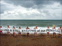 After a lifetime of paying into occupational pension schemes they were